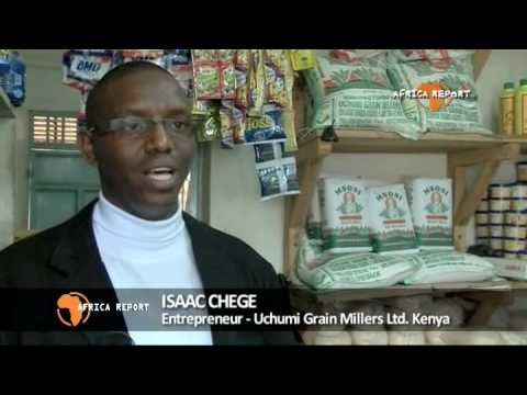 www.africareport.com video - Uchumi Grain Millers, Kenya