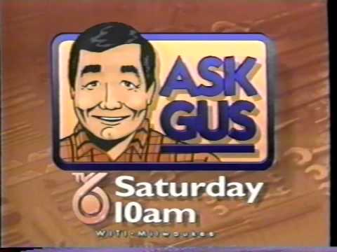 WITI TV6  Ask Gus  10sec 1993