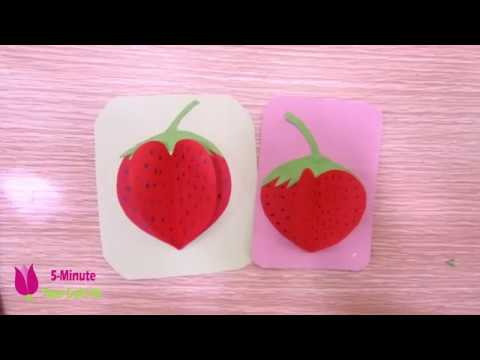 How to Make Paper Fruits DIY PAPER