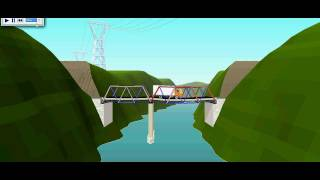 Westpoint Bridge Designer 2004 My Bridge