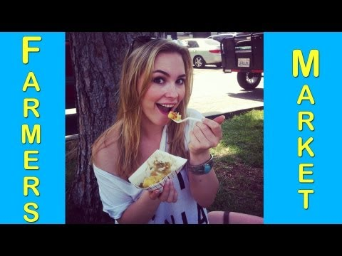 What's Amy Eating at the Farmer's Market?!