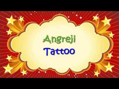 Angreji Tattoo | Entertainment In One | copyright tere nam ka tattoo