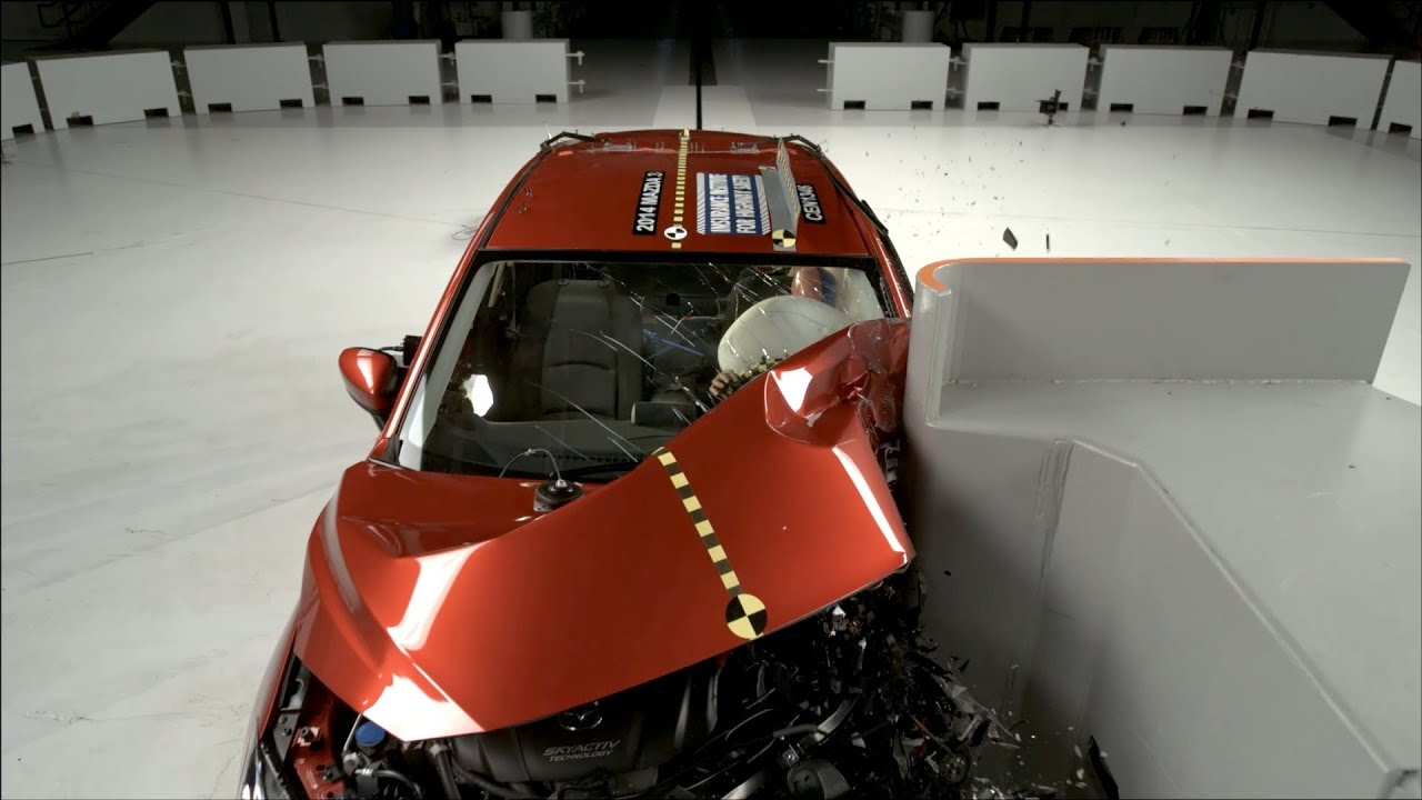 2014 Mazda 3 ▻ CRASH TEST   YouTube