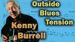 Gambar cover Kenny Burrell - How to Make the Blues Sound Outside