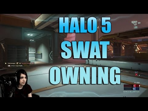 Halo 5 story time with worlds best swat player. Killtrocity first game.