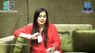 Success Story of an Artist, Ayesha Jahanzeb with Nasreen Khan @Women Care Center
