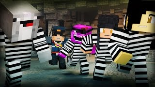 Minecraft Mini-Game: COPS N ROBBERS! (WELCOME TO MY JAIL!)