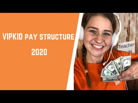 VIPKID Pay Structure 2020