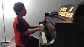 Gambar cover Bach Prelude and Fugue 12 F minor BWV881 Yicheng Peter Zhao