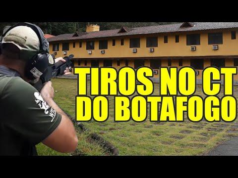CT DO BOTAFOGO TEM ATÉ TREINO DE TIRO INTERNO
