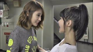 T-ara Jiyeon 지연 & Boram - Kute Japanese (omatase shimashita. おまたせしました)