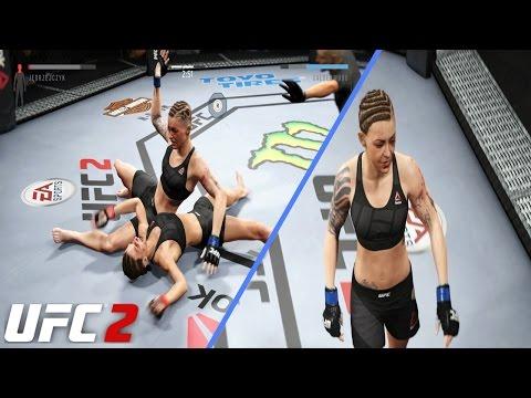 LIVER SHOT!! EA Sports UFC 2 Online Gameplay: Jojo Calderwood Got HANDS For Days!