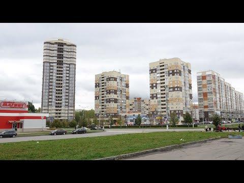 Высотка 25 этажей дом Звезда Экскурсия обзор дома Новочебоксарск осень 2019