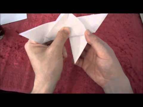 πως να κανετε μια πεταλουδα απο χαρτι