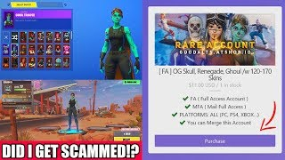 I Bought The RAREST FORTNITE ACCOUNT For $11... (Did I Get SCAMMED!?)
