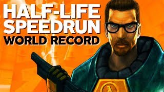 Half-Life Backwards in 1:13 (World Record)