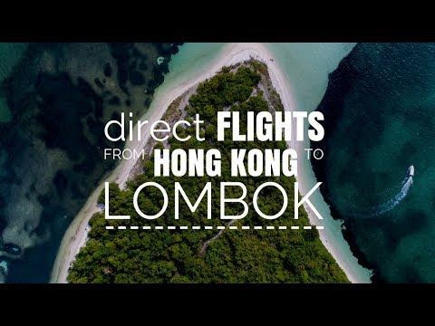 Direct flights from Hong Kong to Lombok?