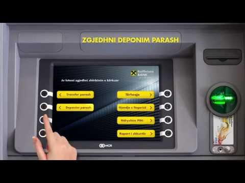 Cash-in/ Deponim parash ne bankomat