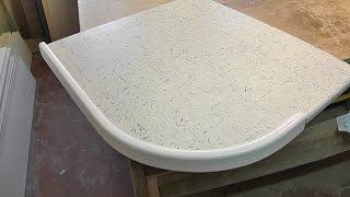 деревянная накладка на столешницу видео урок(Сайт http://turali-mebel.com Как крепить деревянную накладку для столешнице и для чего она нужна, более подробно смотр..., 2015-06-07T16:32:41.000Z)