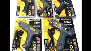 Как выбрать клеевой пистолет ? Видео обзор термопистолетов SIGMA от Electronoff