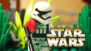 LEGO Star Wars First Order vs Resistance on Endor!