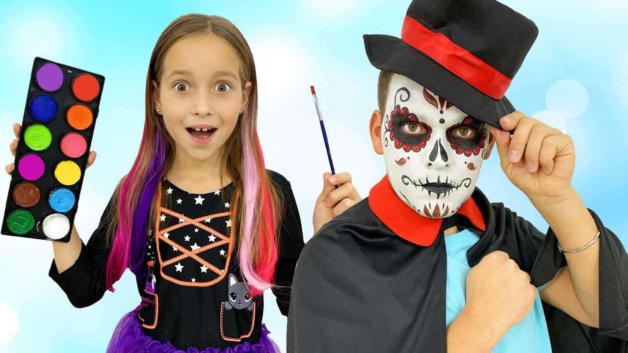 Sofia and mysterious adventures on Halloween for Kids
