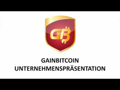 Gainbitcoin deutsche Präsentation | Marketing Plan