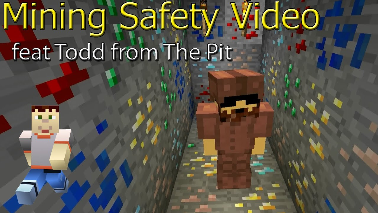 Todds Mining Safety Tips - Minecraft Beginner Guide