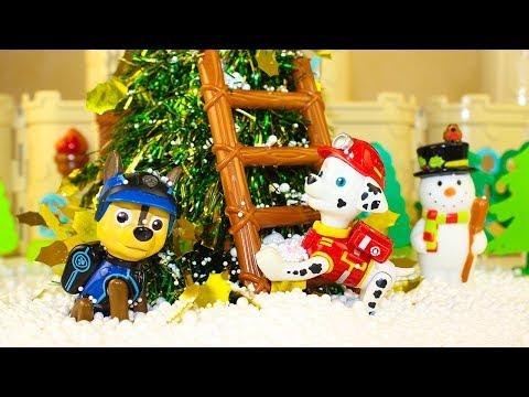 Мультики про Игрушки Щенячий патруль Новогодний Сюрприз для Скай Мультфильмы 2017 Видео для детей