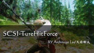 Skyrim MOD:TureHitForce 01