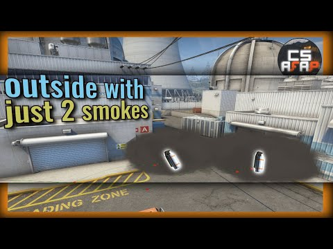 NUKE: Outside control with just 2 smokes (64 & 128 tick) | CS afap