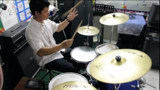 XANCHEZ - Somebody That I Used To Know - Mayday Parade Punk Goes Pop 5 Drum Cover