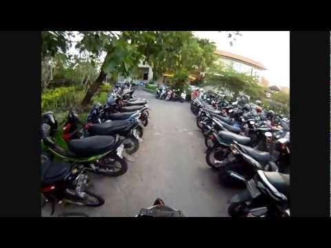 Bali motorbike parking