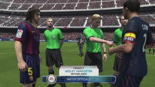 FIFA 14 - Demo Gameplay: PSG vs FC Barcelona HD