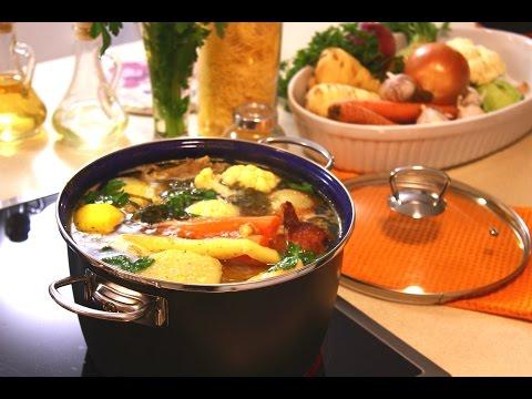 Domaća kokošija supa - Šerpicina škola kuvanja