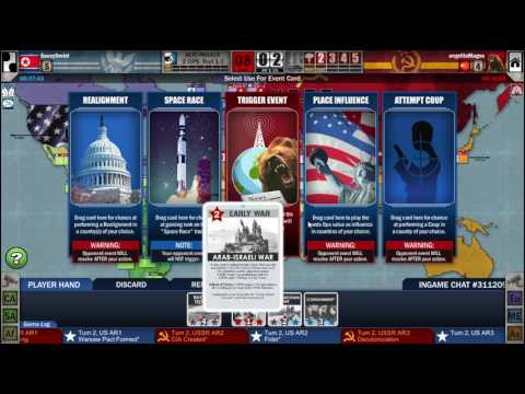 Twilight Struggle (Steam): Online game #10 (US, US+2)