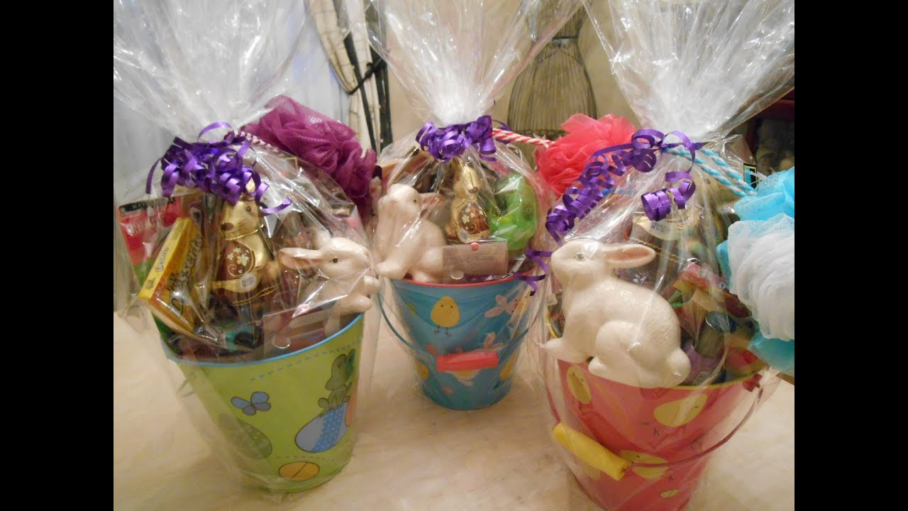 Easter basket gift ideas for girls youtube negle Choice Image