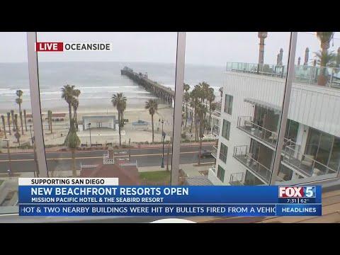 New Beachfront Resorts Open In Oceanside