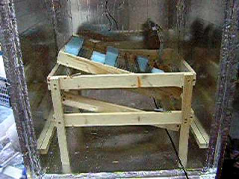 how to make a homemade wooden incubator for chicken eggs