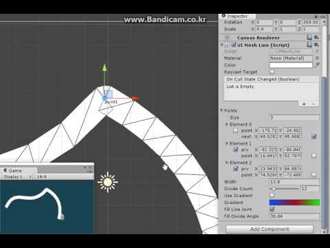 Line Drawing Unity : Draw bezier mesh lines in unity d canvas youtube