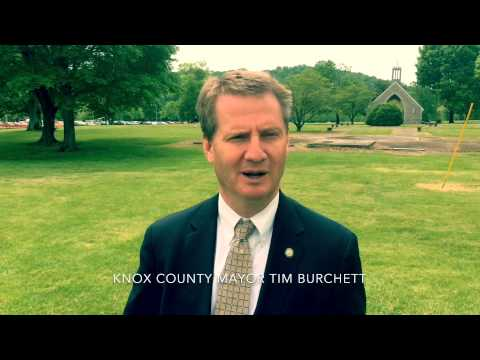 Mayor Tim Burchett with a quick nod to Knoxville.
