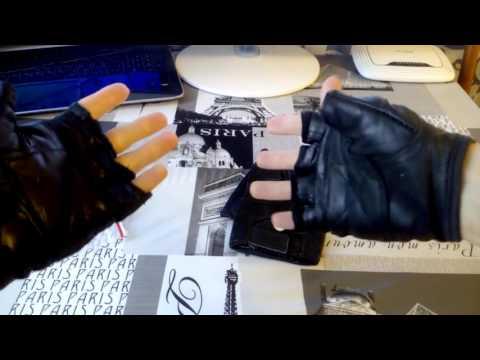 Посылка из Китая №11 Кожаные перчатки для спорта (зала, фитнеса). Лучший выбор.
