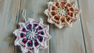 How to crochet my Mandala