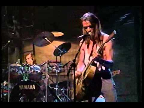 Chris Whitley:  Kick the Stones Letterman July 1991