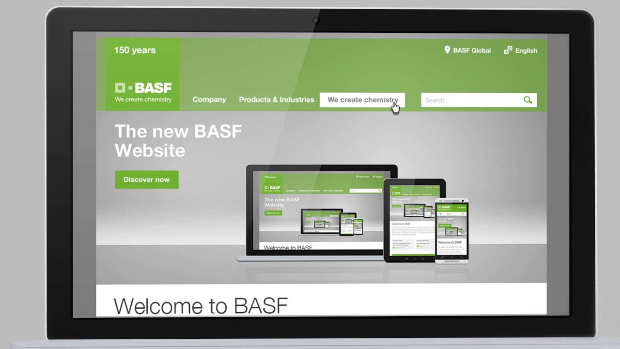 the new basf website an enhanced user experience for you - Basf Bewerbung