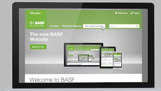 The New BASF Website – An Enhanced User Experience For You