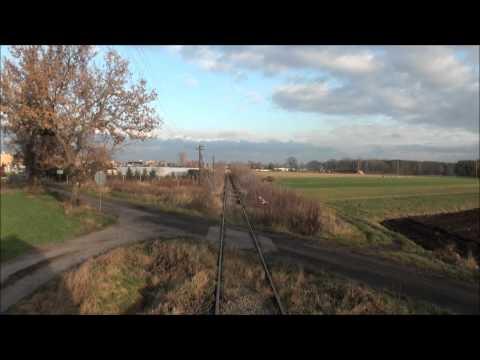 Cabview SU45-116 poc. 77201 Rawicz - Miejska Górka (+sound)