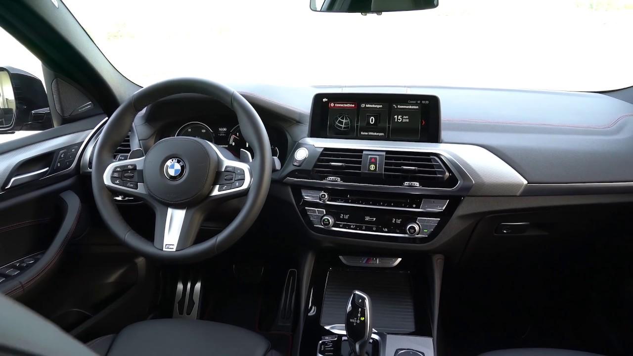 2019 Bmw X4 M40d Interior Design