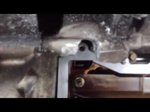Jaguar X Type 2 5l Oil Pan Removal