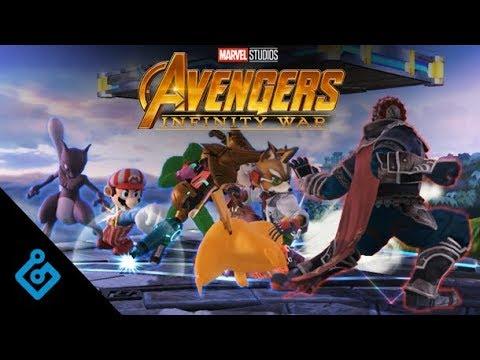 Simulating Avengers: Infinity War In Super Smash Bros.